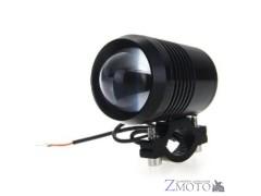 Фара на дуги светодиодная LED Cree U2 30W с кронштейном чёрный