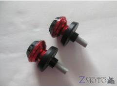 Слайдеры на маятник CNC 42*30*10 мм  красные