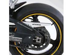 """Наклейки на колеса мотоцикла 17"""" светоотражающие золотые"""