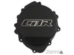 Крышка двигателя Honda CBR 600 RR 07-19, CB 600 F Hornet 07-13 левая (генератор) CNC чёрная