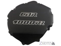 Крышка двигателя Honda CBR 1000 RR 08-16 левая (генератор) CNC чёрная
